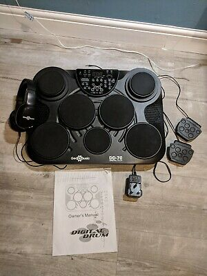 DD70 Portable Electronic Drum Pads by Gear4music - Great for Home Practise