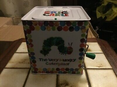 World of Eric Carle - Hungry Caterpillar (Jack) in a Box Toy Tin