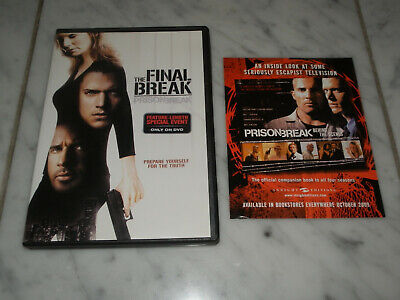 Prison Break: The Final Break (DVD, 2009) Wentworth Miller, Sarah Wayne Callies.