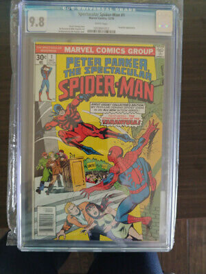 Peter Parker Spectacular Spider-Man #1 - Cgc 9.8 - White Pages - Nm/Mt