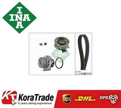 Timing Belt /& Water Pump Kit 530017130 INA Set Genuine Top Quality Replacement