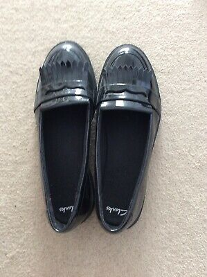 Clarks Girls School Shoes adults Size 6.5