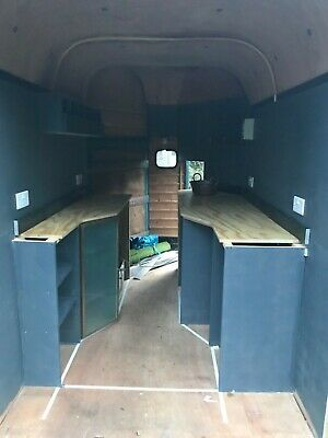 Vintage Rice Horse Box Catering Trailer / Food Van / Conversion / Event Outlet