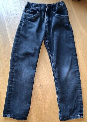 Boys Black Jeans By H&M … Age 5 - 6 Years - LOOK! 👀