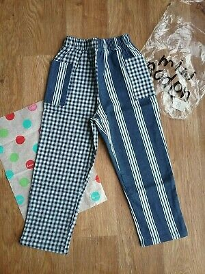 Mini boden boys trousers age 5/6 100% cotton jean traditional play-wear new
