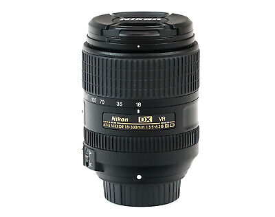 Nikon AF-S DX NIKKOR 18-300mm f/3.5-6.3G ED VR All-in-One Zoom Lens