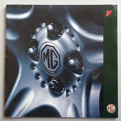 V16118 MG 'F' - CATALOGUE - 07/97 - 27x27 - D