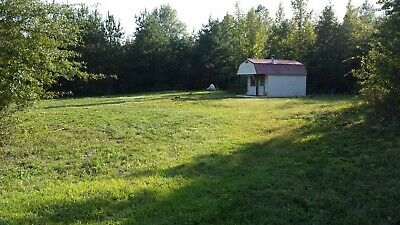 8 Acre Farm Property with Tiny Cabin, Well, Electric and Garden Plot
