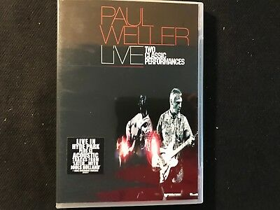 Paul Weller  DVD  Live  Two Classics Performances  Neu  Live in Hyde Park