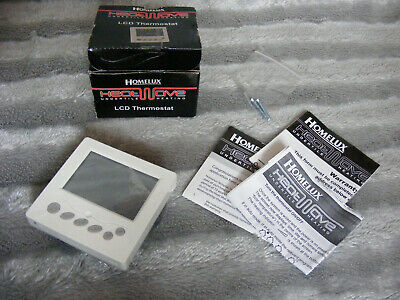 Brand New Homelux HeatWave Undertile Heating LCD Thermostat HHW LTSC