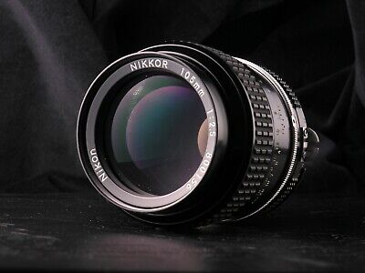 Nikon/Nikkor 105mm f2.5 (105/2.5) AI-S/AIS, fits Sony/Canon/Olympus