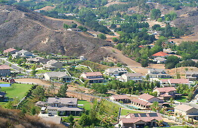 Rural community surrounded by Hillsides IN Santa Clarita Valley Los Angeles