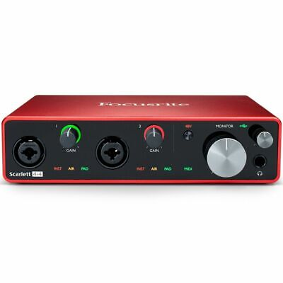 Focusrite Scarlett 4i4 3rd Gen Scheda Interfaccia Audio MIDI USB 4in/4out
