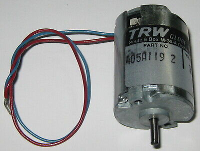 Buhler Permanent Magnet DC18V  Large Hobby Motor with Pulley