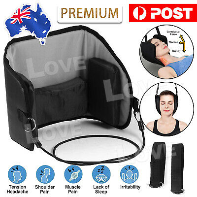 Head Hammock Cervical Traction Stretcher Neck Pain Relief Support Massager Tool