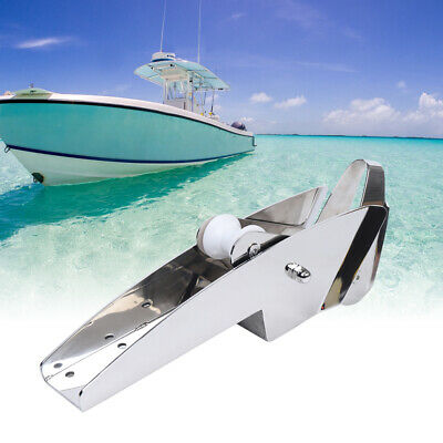 Boat Stainless Steel Anchor Roller Self Launching Heavy Duty Marine Bow Roller