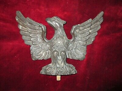 Antique Original 19th Century Vienna Wall Clock Eagle (not reproduction)