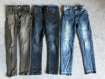 3 X Boys Jeans Bundle Age 8 Years Tu Bluezoo