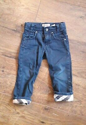 Burberry Jeans 2 Years Old (24 Months) Girl Or Boy Baby Child Toddler