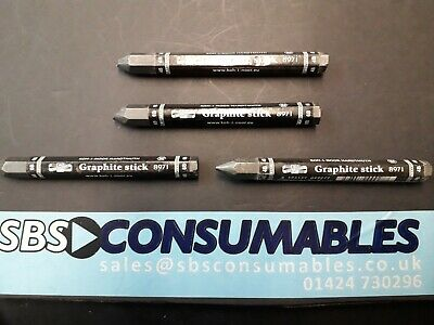 Progresso JUMBO GRAPHITE Woodless Stick KOH-I-NOOR 8971 Thick 6B  Pencil