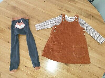 Next Baby Girls Age 9-12 Months Outfit