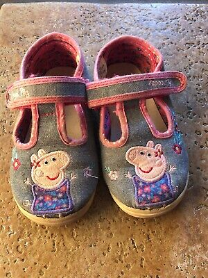 Asda George First Walkers Peppa Pig Toddler Girls Sandals Summer Shoes Size 8
