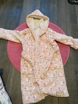 Blue Zoo Girls dressing gown age 7 to 8 yrs