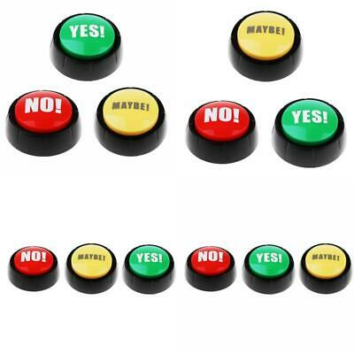 Wireless Quiz Game Buzzer with Sound Push Button Families Party Game Supply