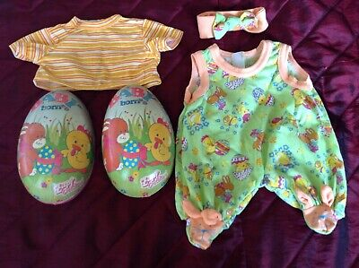Zapf Creations Easter egg with baby born outfit, rare item