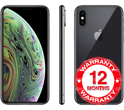 Apple iPhone XS - 64GB - Space Grey (Unlocked) Smartphone