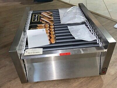 Star Grill-Max model 45 Hot Dog Roller Grill with bun drawer 45scbb