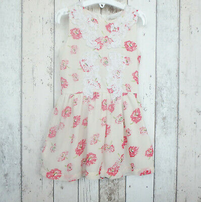 ** Pretty Girls Floral Print Dress - Peppermint (4 years) **