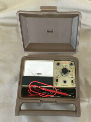 Vintage Heathkit IM-17 Solid State Voltmeter for Parts or Repair