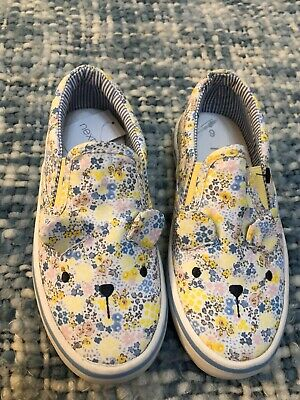 Next Girl Trainers Slip On Size 9