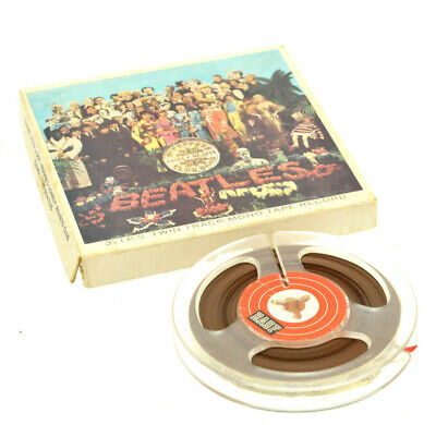 The Beatles - Sgt Pepper's Lonely Hearts Club Band - Twin Track Mono Tape Record