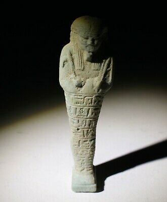 Nice Ancient Egyptian Ushabti Figure 500Bc  0233