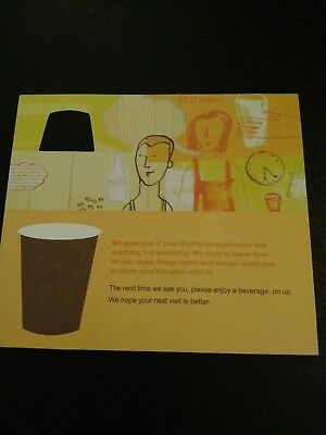 Starbucks Coffee (Any Size) Voucher, $6.00 + VALUE , NO EXPIRATION