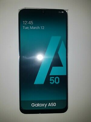 NEW! Samsung Galaxy A50 in Blue Handy Dummy Attrappe - Requisit, Deko