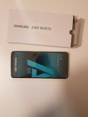 NEW! Samsung Galaxy A50 in White Handy Dummy Attrappe - Requisit, Deko