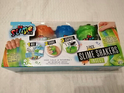 Slime shakers insect..Slime-A-faire-soi-meme-Pack-3-Couleurs-