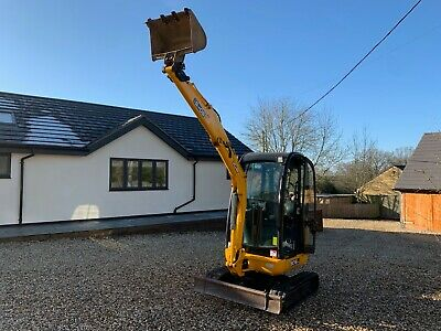 Jcb 8018cts Mini Digger ,excavator 2008 low hours 1800 NO VAT!!!!!