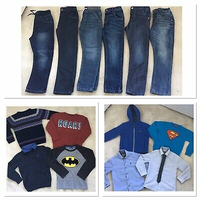 Boys Next Clothes Bundle Age 5-6 Jeans Jumpers Tops Shirts