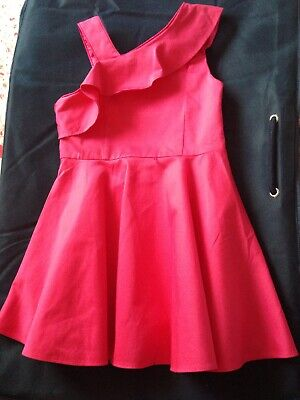 Baker By Ted Baker- Girl' Pink Dress Age 4 Years. NEW