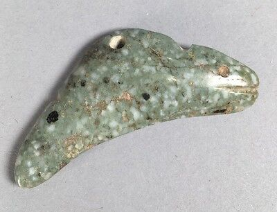 Precolumbian Jade Fish Ex Harper Collection 1950/60s