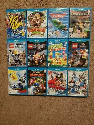 Nintendo Wii U Games! You Choose from Large Selection!