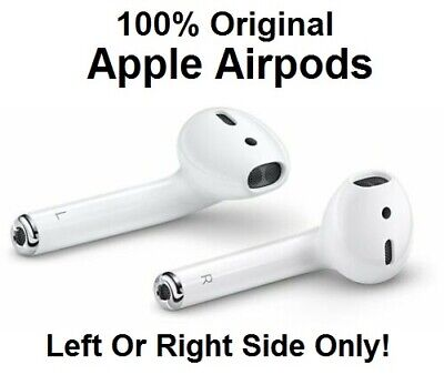 Genuine Apple AirPods Left Right Replacement 2nd Generation Air Pods A2031 A2032