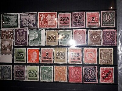 German Empire/Weimar Republic,  Job Lot, MLH/MNG, all different, see photo.