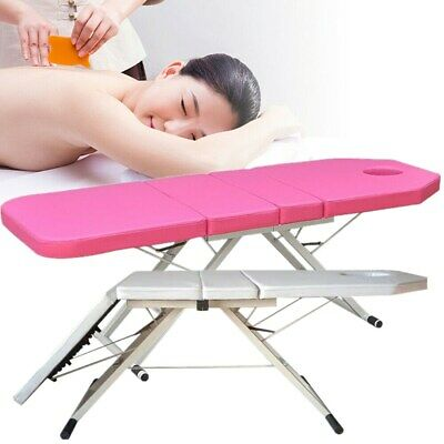 """Portable Folding Massage Table Bed Therapy Beauty 3 Sections Couch Salon 71"""" New"""