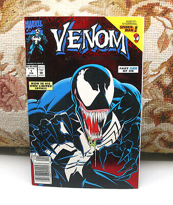 Venom Lethal Protector 1992 #1 First Venom Comic Book Marvel Near Mint