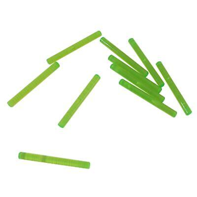 LEGO LOT OF 5 Transparent Bright Green Bar 4L 1 x4 Lightsaber Blade // Wand NEW